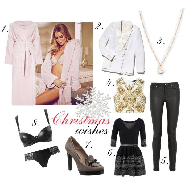 """""""Christmas wishes"""" by thefashionjourn on Polyvore"""