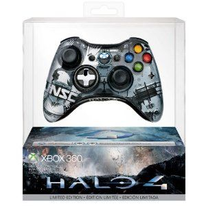 Halo 4 Xbox 360 Wireless Controller (Xbox 360): Amazon.co.uk: PC & Video Games  amazon will provide the best price for xbox 360. link added