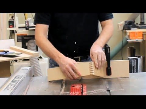 Make an Accurate Box Joint Jig, Simple and Fast - YouTube
