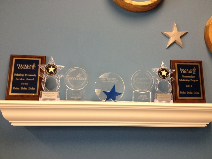 Way to go Delta Zeta! Our Franklin chapter received Outstanding Scholarship Program, Chapter Philanthropy & Community Service Award, Highest Sorority GPA for 2011, and Sorority Chapter of the Year. Individual awards received were Sorority New Member of the Year & Sorority Living the Ritual Award. Congrats!