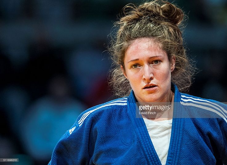 Natalie Powell of Great Britain reached fifth in the u78kg category during the 2016 Dusseldorf Judo Grand Prix on Sunday, February 21 at the Mitsubishi Electric Halle, Dusseldorf, Germany. February 21, 2016| Credit: David Finch