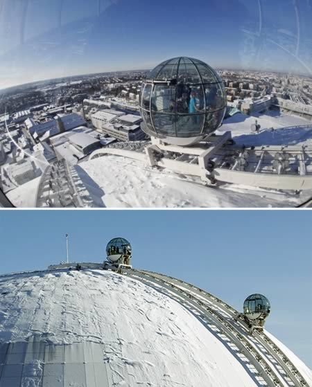SkyView is the new world-class attraction that takes you to the top of the world's largest spherical building, the Ericsson Globe, a Stockholm landmark.