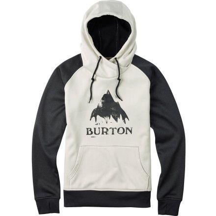 Burton Heron Pullover Hoodie - Women's Vanilla Heather