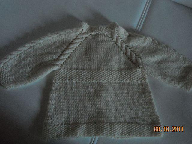 Ravelry: Angel - Cardigan bianco pattern by Barbara Ajroldi