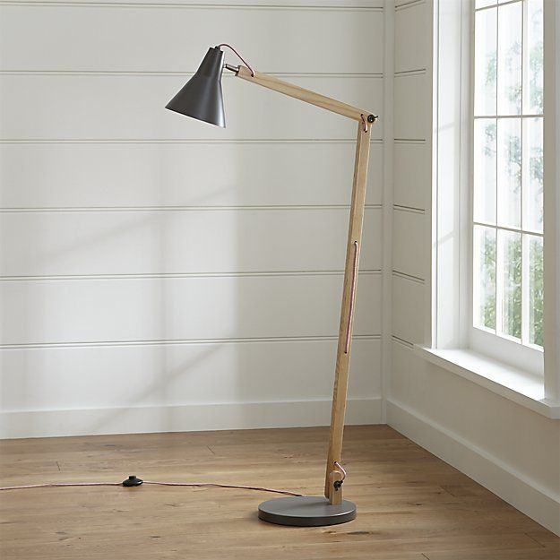 These would be fun by chairs in front of builtin. $169 each. Set the mood with a floor lamp from Crate and Barrel. Browse a variety of styles including swing arm, tripod, adjustable, and more. Order floor lamps online