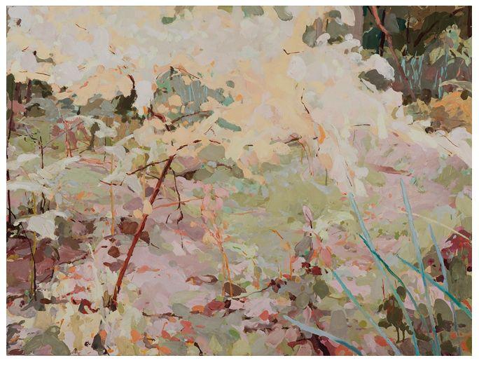 Mary Tonkin, Wonderland, Kalorama 2010 oil on linen 61 x 82 cm
