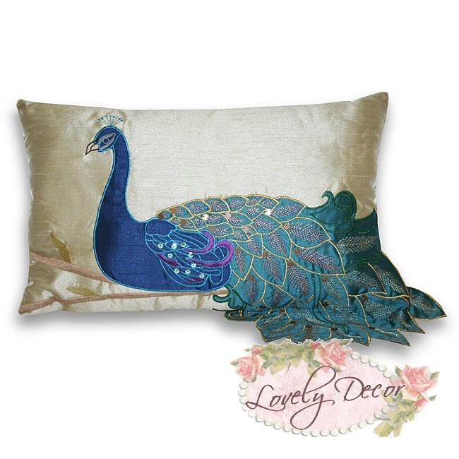 Fancy Peacock Cushion Cover