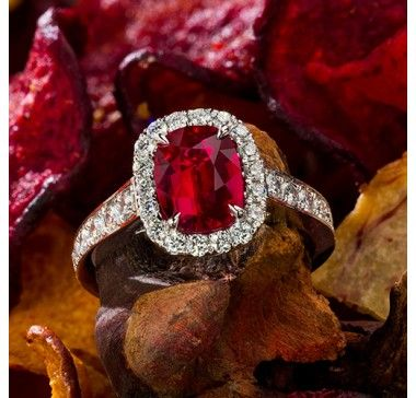 Jeffrey Daniels Ruby Ring
