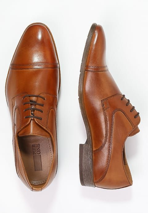 Zapatos de traje con cordones - brown