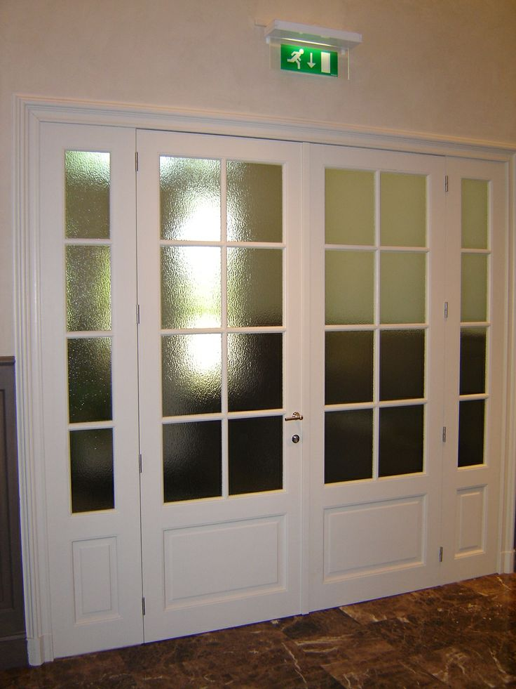 Houten binnendeur met glas binnendeuren stuyts realisatie pinterest interieur and met - Redone slaapkamer ...