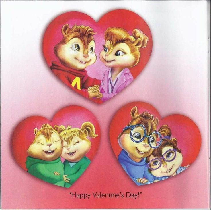 Its a page of the new Book: Alvin and the chipmunks: A chipmunks valentine. You can read more of this book on: