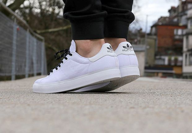 The All-White adidas Stan Smith Vulc Is Perfect For Summer ...