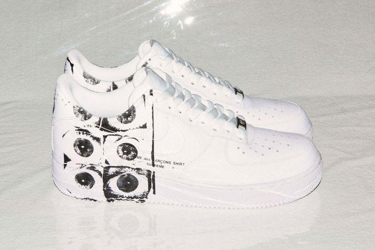 Nike Air Force 1 Low x Supreme x COMME des GARÇONS SHIRT