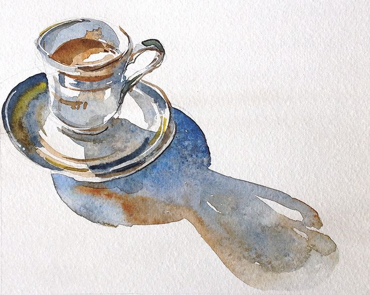 Teacup and long shadow | Flickr - Photo Sharing!