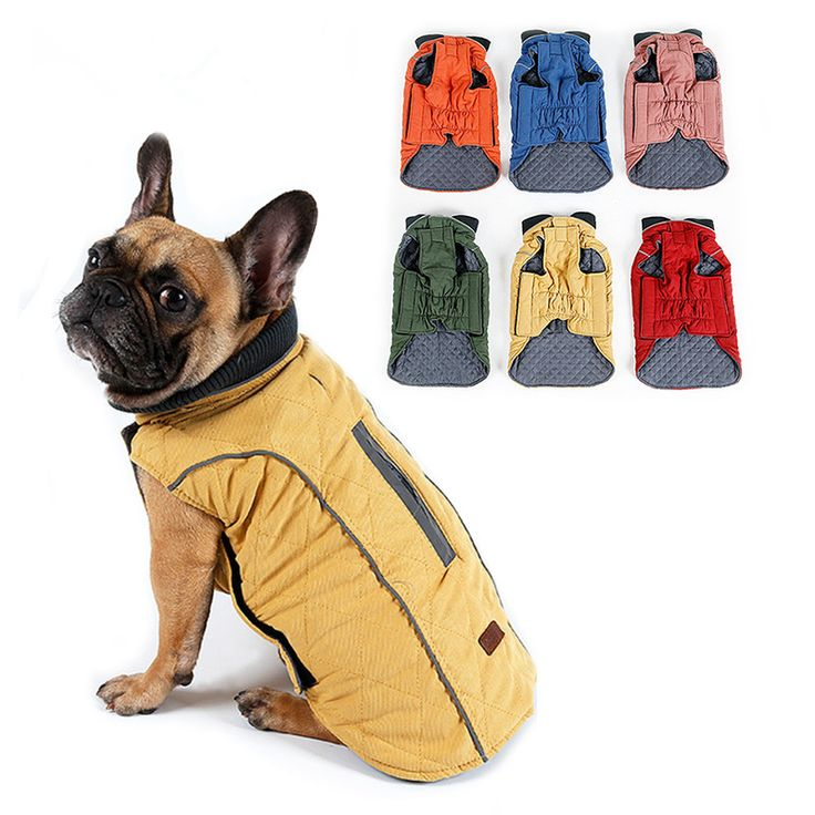 BUY now 4 XMAS n NY. High Quality Dog Clothes Quilted Dog Coat Water Repellent Winter Dog Pet Jacket Vest Retro Cozy Warm Pet Outfit Clothes Big Dogs -- Shop 4 Xmas n 2018. Detailed information can be found on  AliExpress.com. Just click the image.