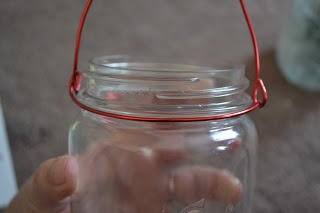 DIY: How to Make a Wire Handle on any Mason/Recycled Jar (Great Frugal Decor Tip, Can  Create Endless Votives, Storage, or Home Decor Using Hanging Jars) !
