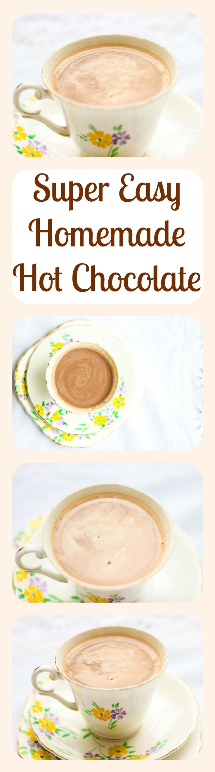 After trying this super easy recipe for homemade hot chocolate, you'll never look at the store-bought stuff the same way again.