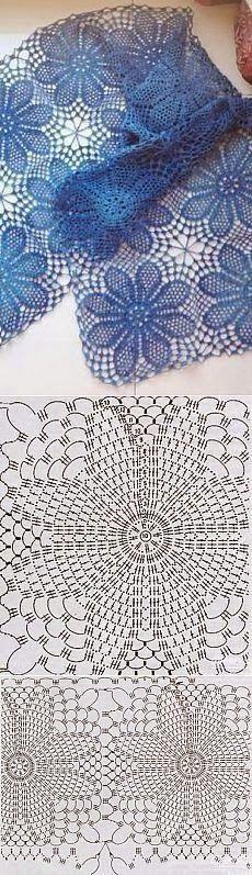 Kira scheme crochet: Scheme crochet no. 562