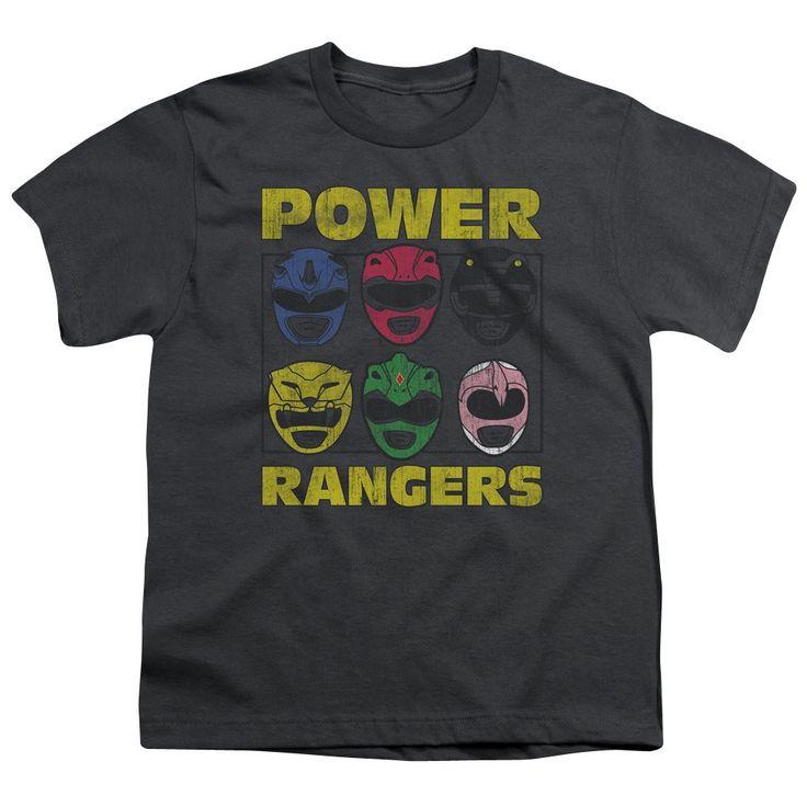 Power Rangers T-Shirt Ranger Heads