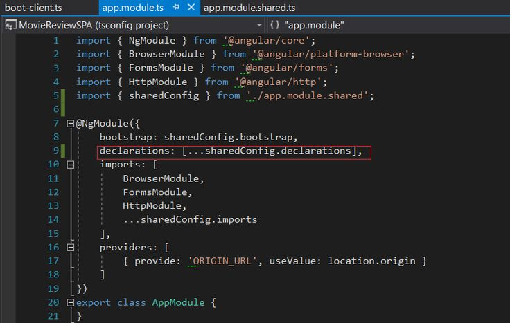 No module files found error when trying to generate components