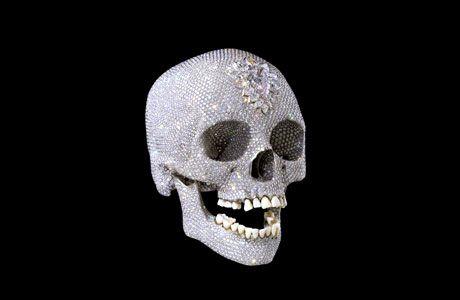 Damien Hirst's skull, London 2006. http://blogs.guardian.co.uk/art/hirst460.jpg