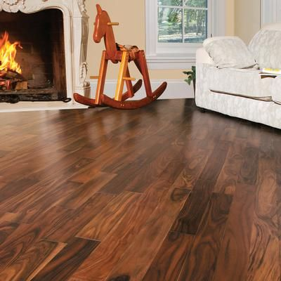 Trillium - Imperial Walnut (Acacia) - Select Grade Prefinished UNICLIC  Engineered Hardwood Flooring Sample - Inch x 4 Inch - - Home Depot Canada - 104 Best Images About Look At Those Floors! On Pinterest