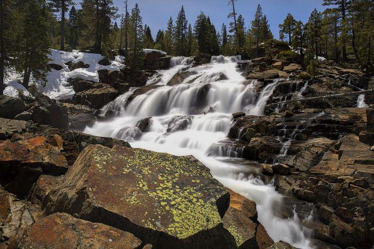 Glen Alpine Falls, El Dorado National Forest, California. [oc][5309x3542]
