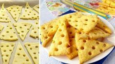Que coisa mais linda ficam esses biscoitos de queijo! Além de criativos, são ótimos para tira-gosto, servidos com algum patê de sua pr...