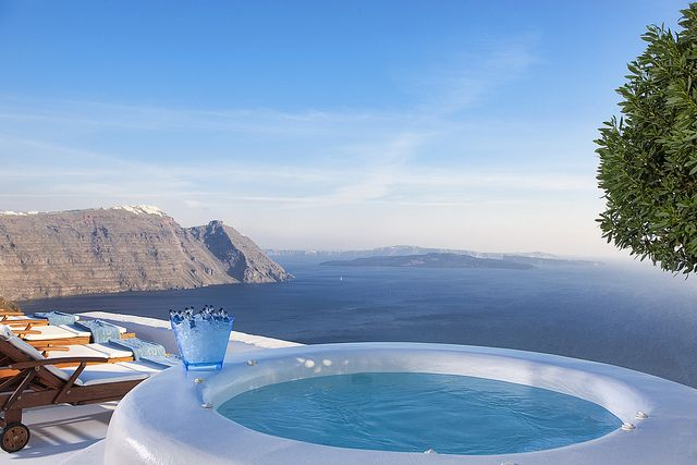 The absolutely breathtaking and luxurious VIP private villa - Architect's House, Santorini Greece