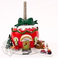 Department 56 - North Pole - Katies Candied Apples and Accessory Set