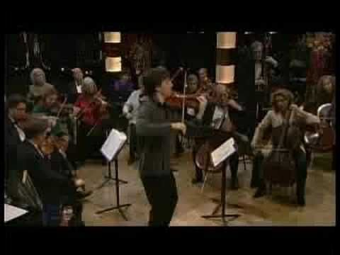 Joshua Bell plays Puccini's 'O Mio Babbino Caro' ... I always think of the movie 'A Room With a View' when I hear it. Such a beautiful piece!