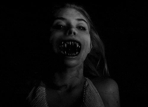creepy bitch