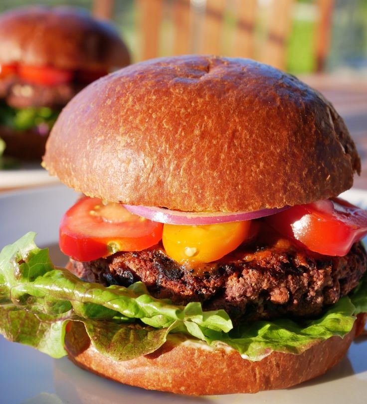 "Finally a homemade veggie burger that stands up on the grill.  Plus a few tips to make any veggie burger more ""meaty""!"