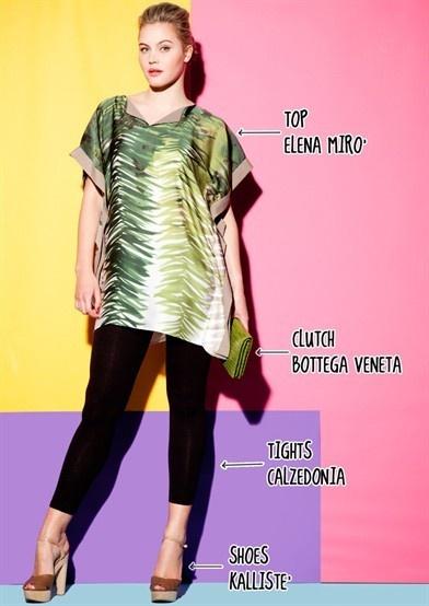 Billy Bardot, T-Shirt Femme, Yellow (Yellow Pattern 89), 46New Look