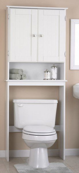 Easy Convenient Affordable And Beautiful Bathroom Storage With An Over The Toilet