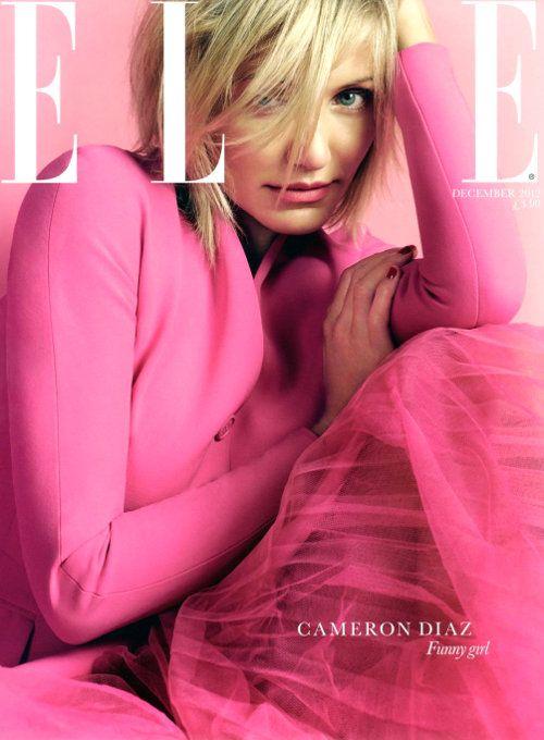 Cameron Diaz  Elle UK December 2012