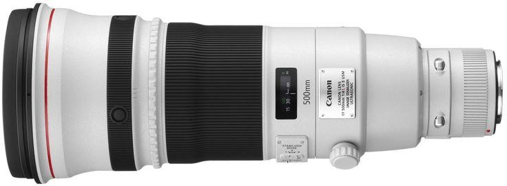 Где купить объектив Canon EF 500mm f/4.0L IS USM II. Цены на объектив Canon EF 500mm f/4.0L IS USM II.