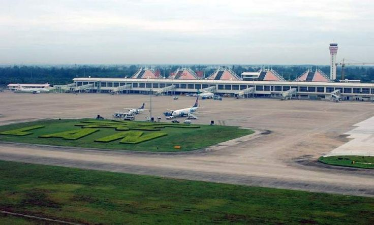 Haikou Meilan International #Airport is the airport serving Haikou, the capital of Hainan Province, #China. It is located 25 kilometres (16 mi) southeast of the city center and was opened in 1999. It is the largest airport in #Hainan, but the 2nd busiest (21st busiest airport in China with 10,696,585 passengers in 2012). #travel #flights