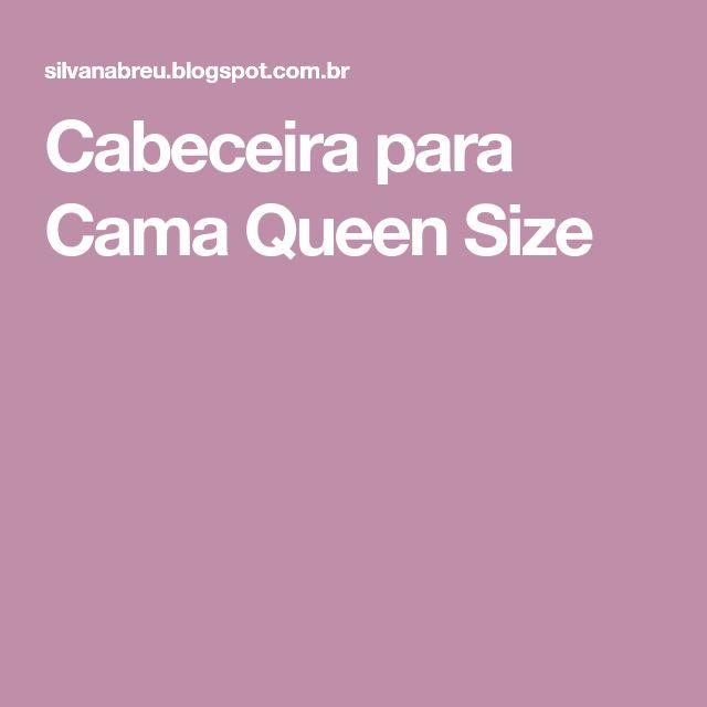 Cabeceira para Cama Queen Size