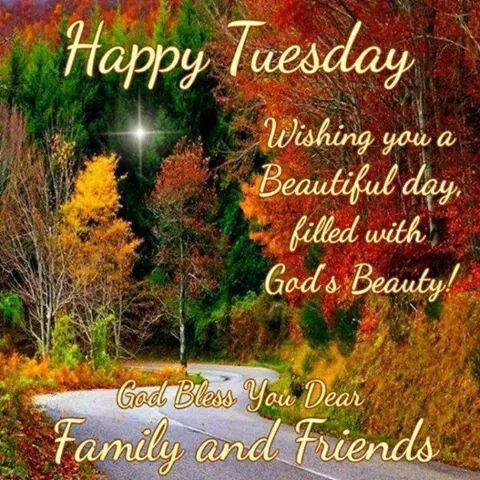 Happy Tuesday. God Bless.