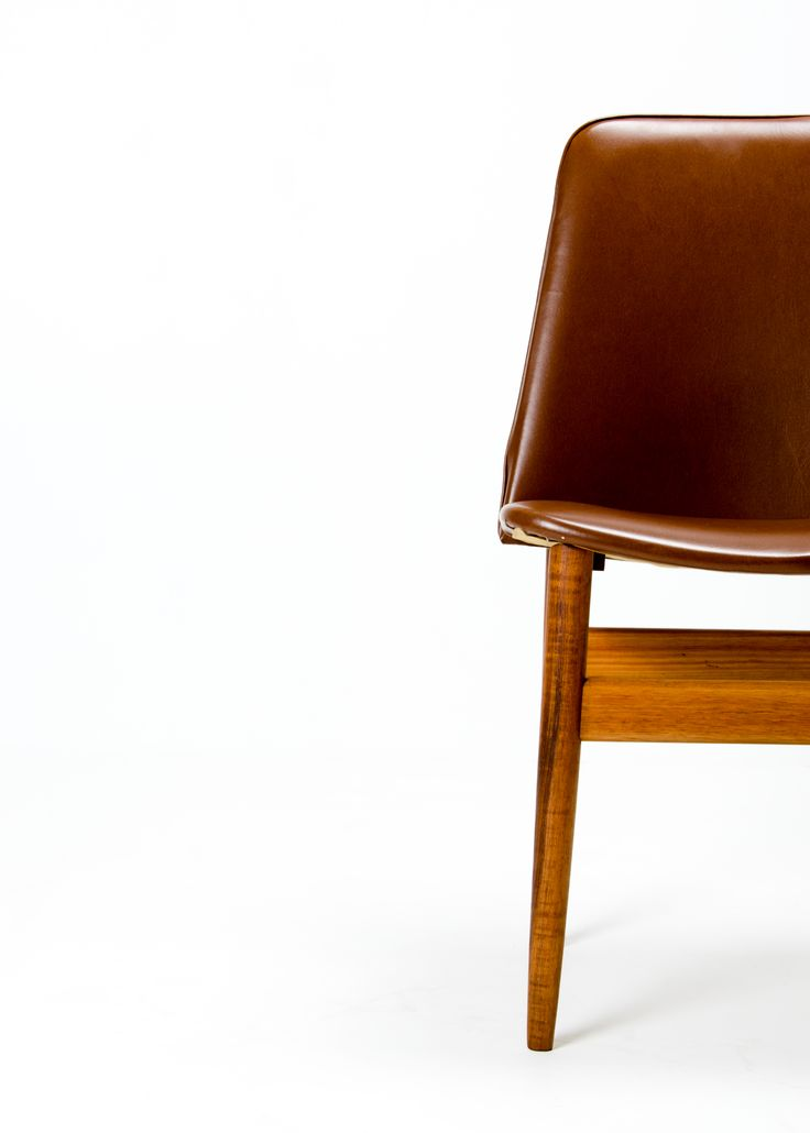 Set of six Cathedral dining chairs by Elite Furniture, Sydney c1977. Beautifully figured walnut frames with upholstered seat and backs in a coffee-caramal coloured vinyl.