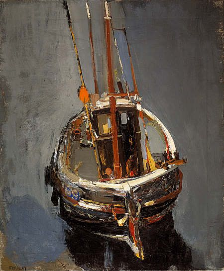 Joan Eardley (1921-1963) - Textured painting at it's best here, a great inspiration!