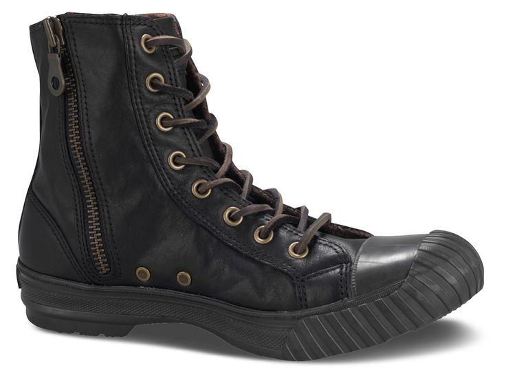 Converse John Varvatos All Star Bosey Boot! Otro agrado estético y visual, lejos del estilo multicolor de esta prestigiosa marca gringa. Too cool!