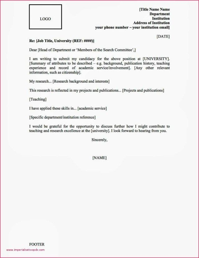 25 Cover Letter Salutation Resume How To Address When Unknown