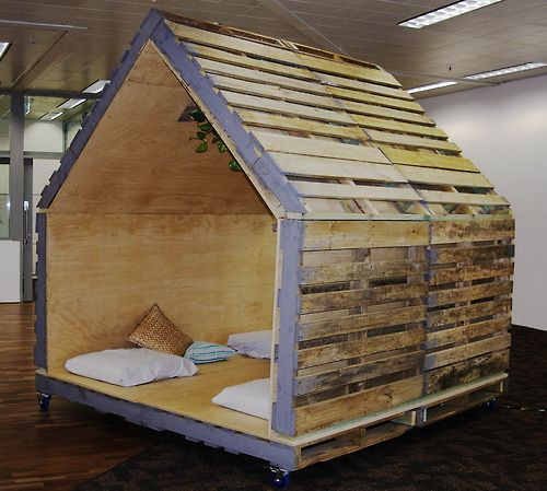 Several cool pallet ideas in the link. UP CYCLING SHIPPING CONTAINER ARCHITECTURE BIKE WORKSHOP PALLET FURNITURE COWORKING SPACE UPCYCLING Hundreds of pallet ideas at http://pinterest.com/wineinajug/passion-for-pallets/
