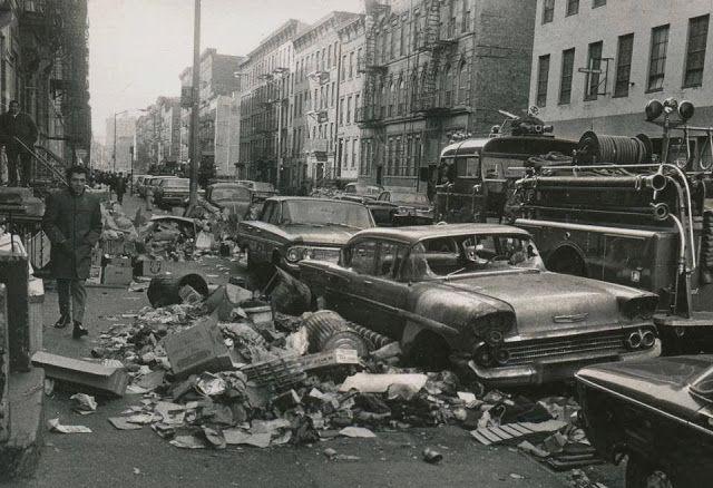 NYC garbage strike, 1968