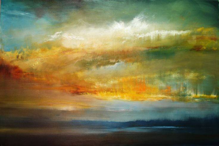 "Maurice sapiro The Six Foot Sunset   48""x72"""