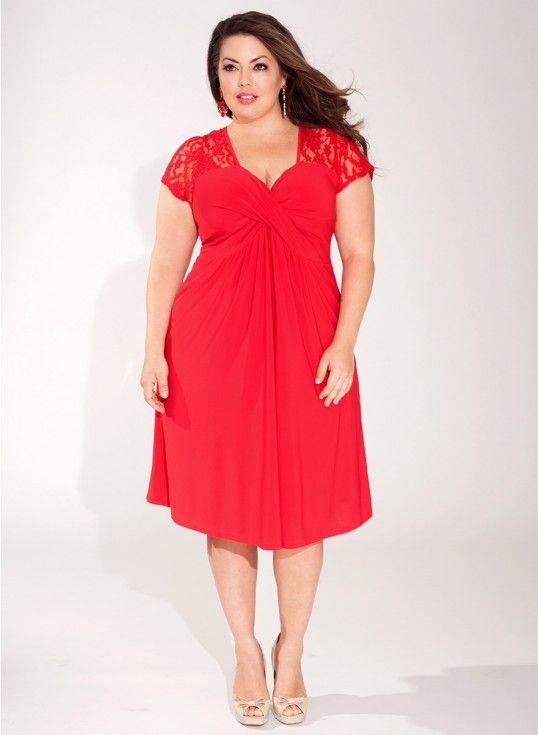 Teagan Dress in Crimson