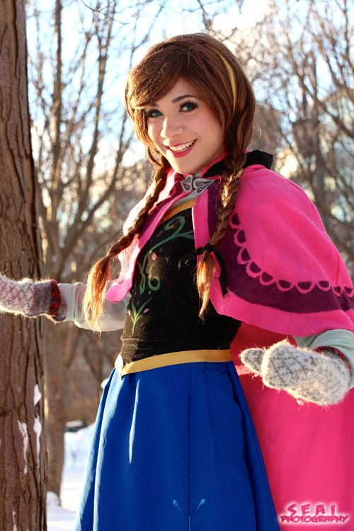 Anna from Frozen Cosplay http://geekxgirls.com/article.php?ID=1879