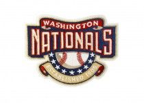 washington nationals Custom Embroidered Patch